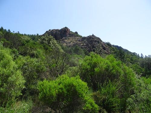 La pointe 441 depuis les alentours de la bergerie lors d'une exploration