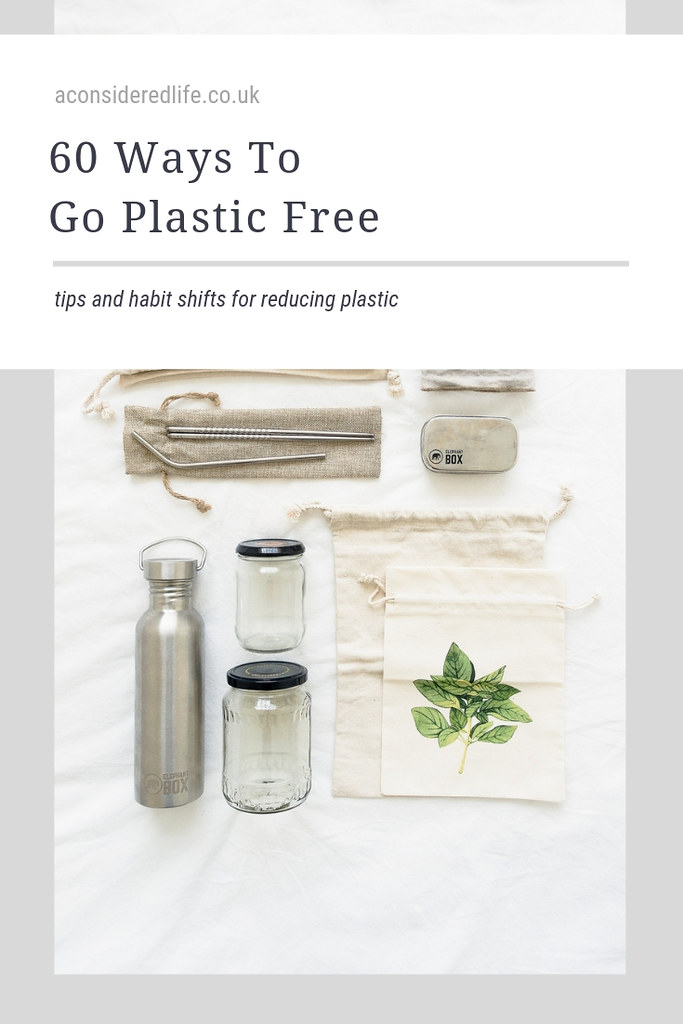 Tips For Going Plastic-Free