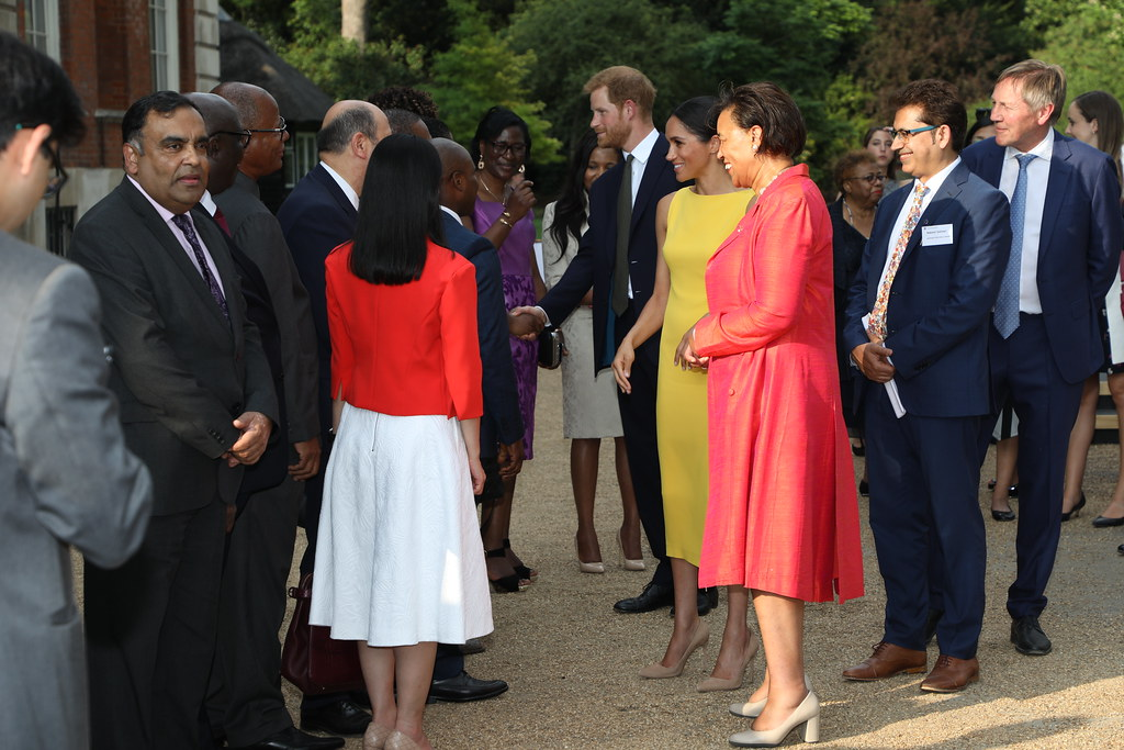 The Duke And Duchess Of Sussex Meet Commonwealth High Comm