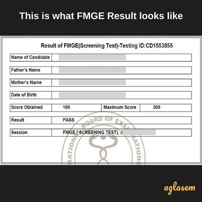 FMGE 2018 Result (Announced) | FMGE Result June 2018