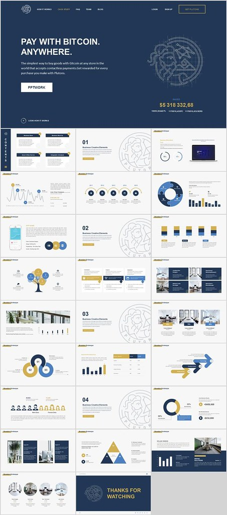 Business Infographic 27 Company Business Data Charts Po Flickr