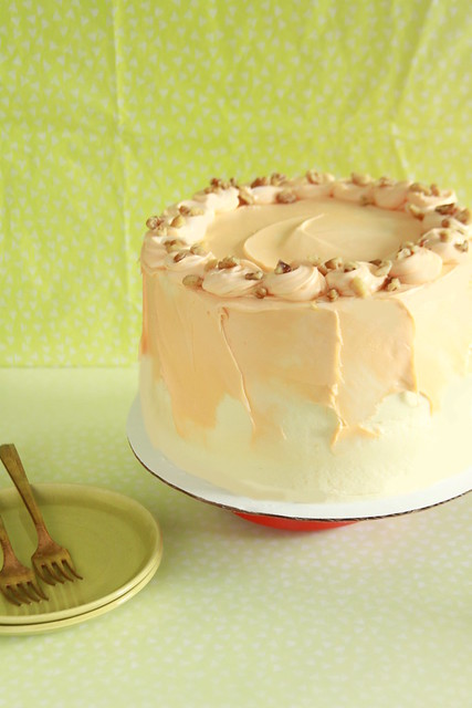 Lilikoi Passion Fruit Cake