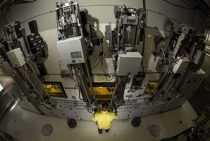 A 'Hot Cell' in Los Alamos National Laboratory's Isotope Production Facility