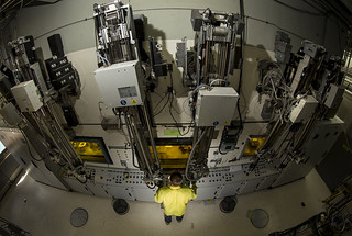 A 'Hot Cell' in LANL's Isotope Production Facility