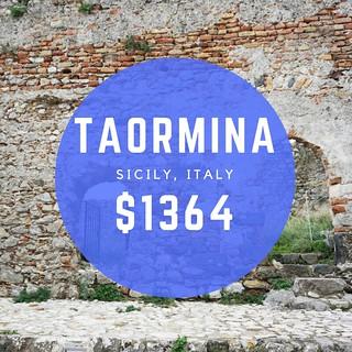 Taormina Sicily, Italy $1364 mo