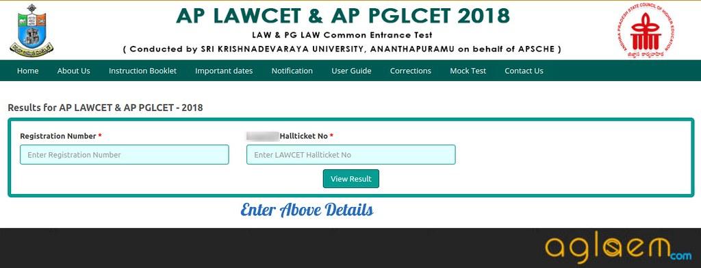 AP PGLCET 2019 Result  %Post Title | AglaSem