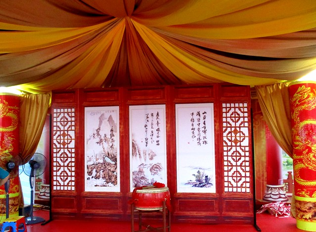 Chinese booth