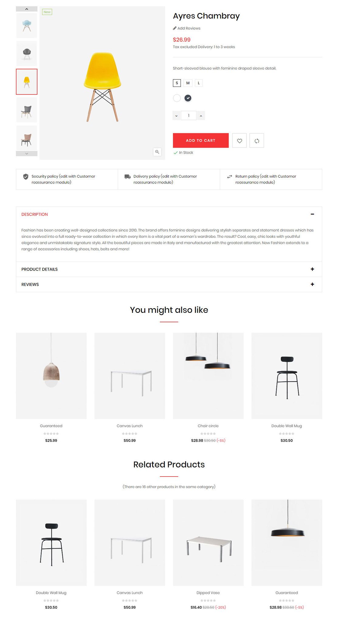 Product image thumbs left