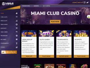 Miami Club Casino Home
