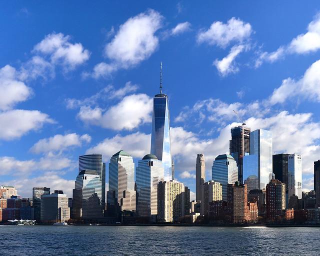 Skyline de Nueva York con el rascacielos One World