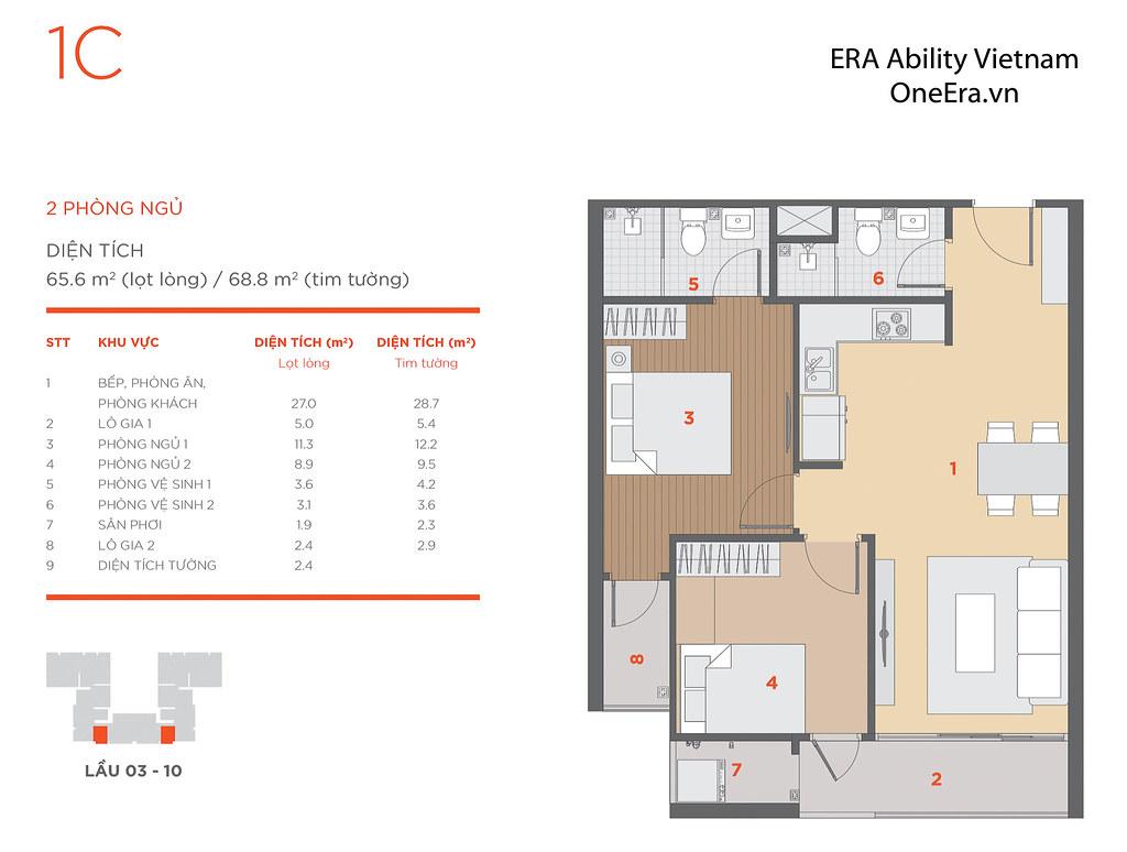 Mặt bằng tầng và thiết kế căn hộ Hausneo 42