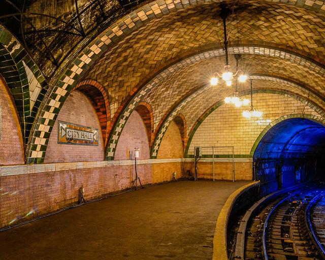 Estación oculta de metro de Nueva York
