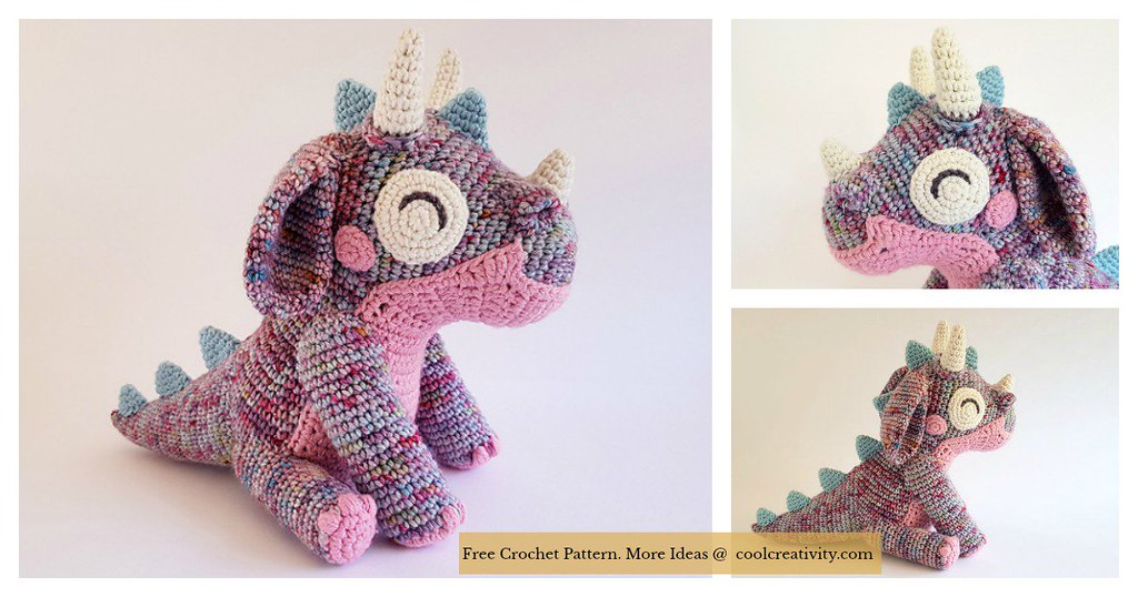 Amigurumi Baby Dragon Free Crochet Pattern New Post Has Be Flickr