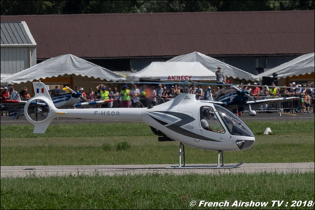 F-HSOR - Guimbal Cabri G2 , AéroLac Annecy 2018 , Canon EOS , Sigma France , contemporary lens , Meeting Aerien 2018