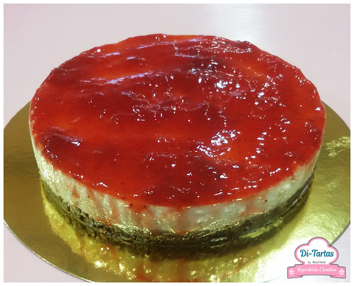 cheescake de fresa | by DiTartas