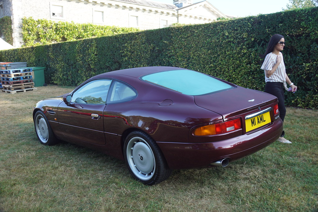 Aston Martin Db7 1994 When Fos Was New Too Star Cars Of Flickr