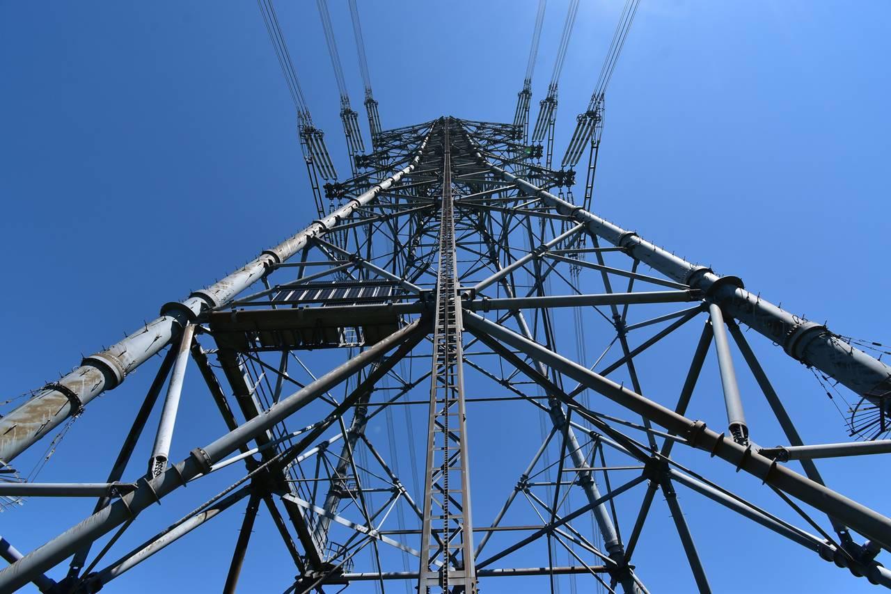 平標山 途中の鉄塔