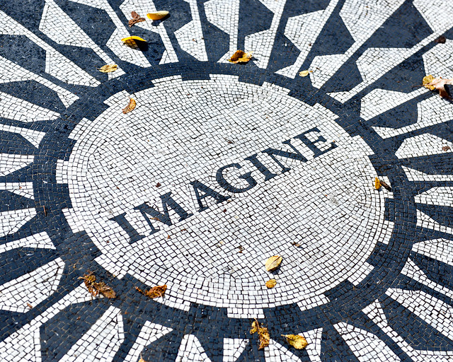 Strawberry fields de Central Park