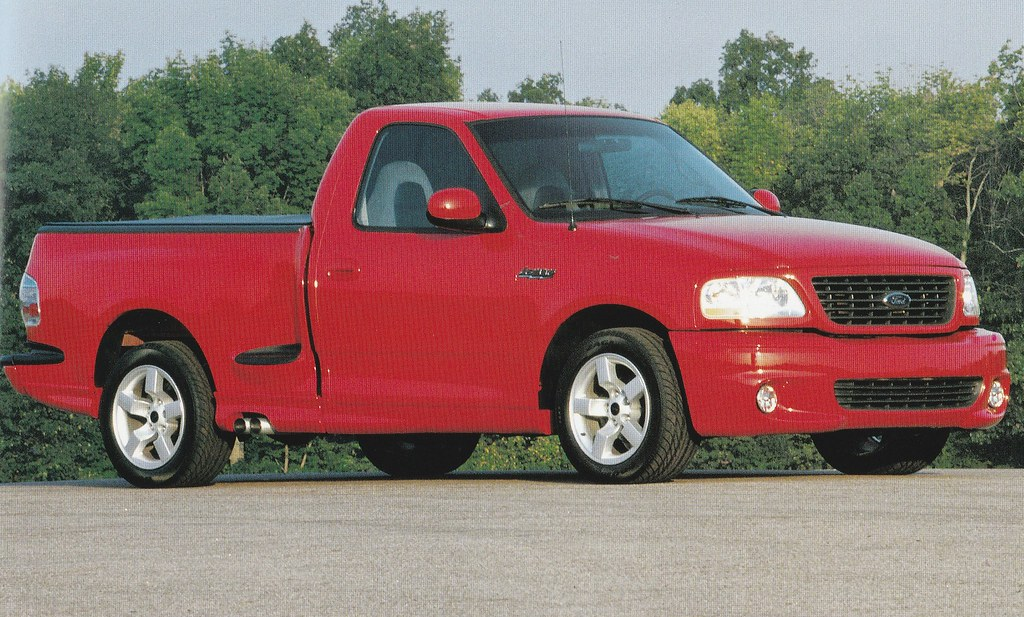 2001 Ford F150 Svt Lightning Press Photo Usa Covers The Flickr