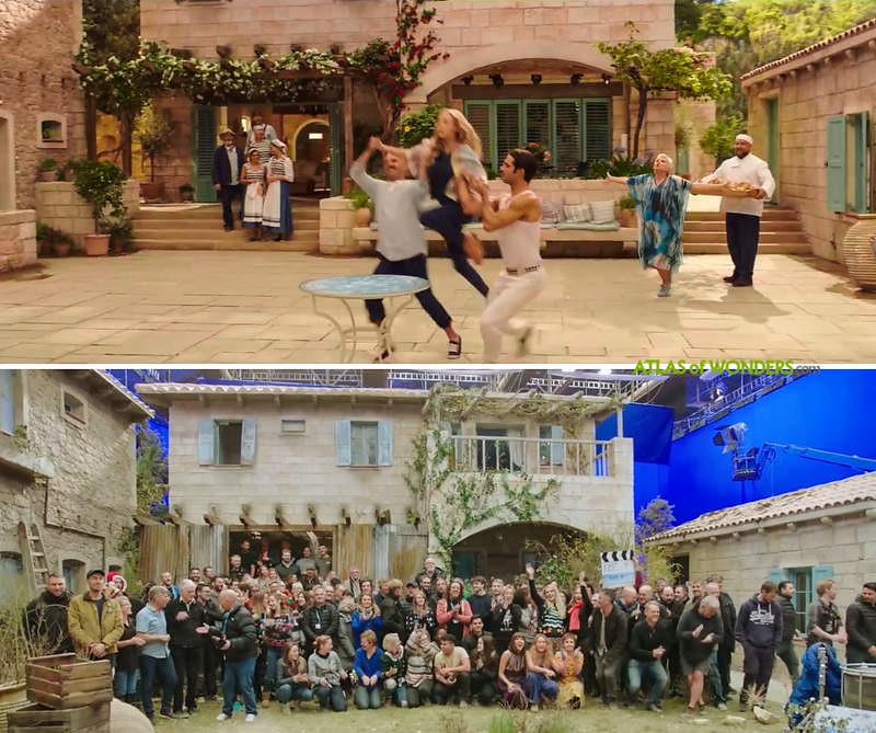 Where is Mamma Mia 2 set