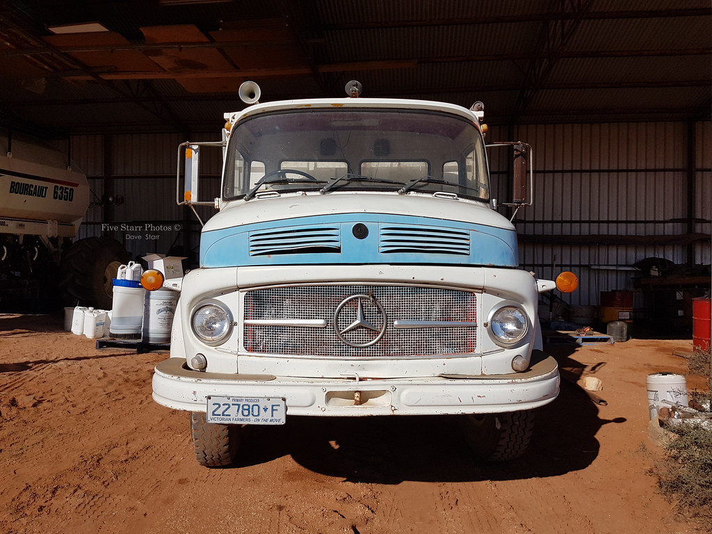 ... 1974 Mercedes Benz 1418 Truck | by Five Starr Photos (  Aussiefordadverts)