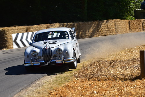Grant Williams, Jaguar Mk1, Goodwood Festival of Speed 2018