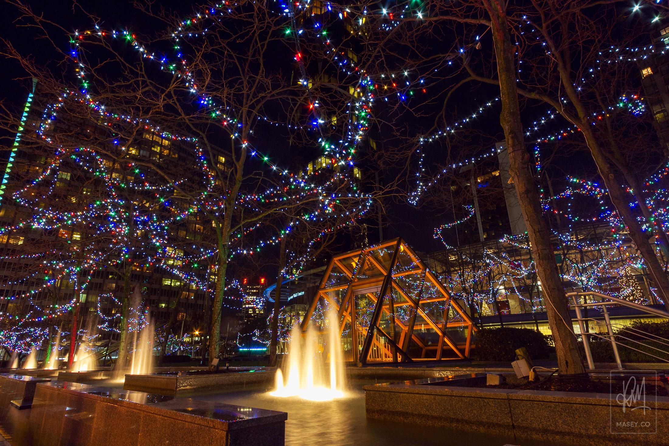 Vancouver Night Photo Walk - Xmas Edition