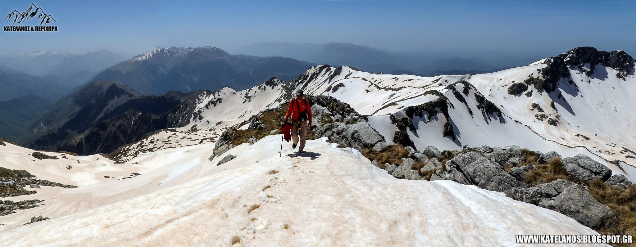 ορειβασια στα βουνα των τρικαλων ορος χατζη