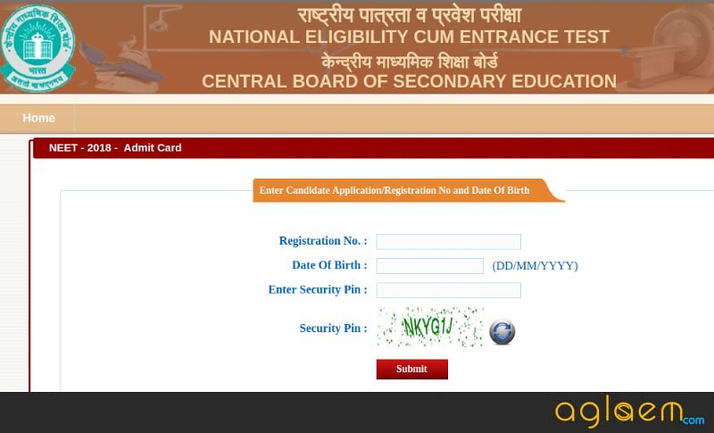 NEET 2018 Admit Card: Available, Download Here NEET Hall Ticket