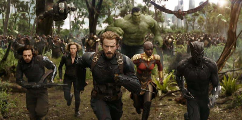 Avengers Infinity War where filmed