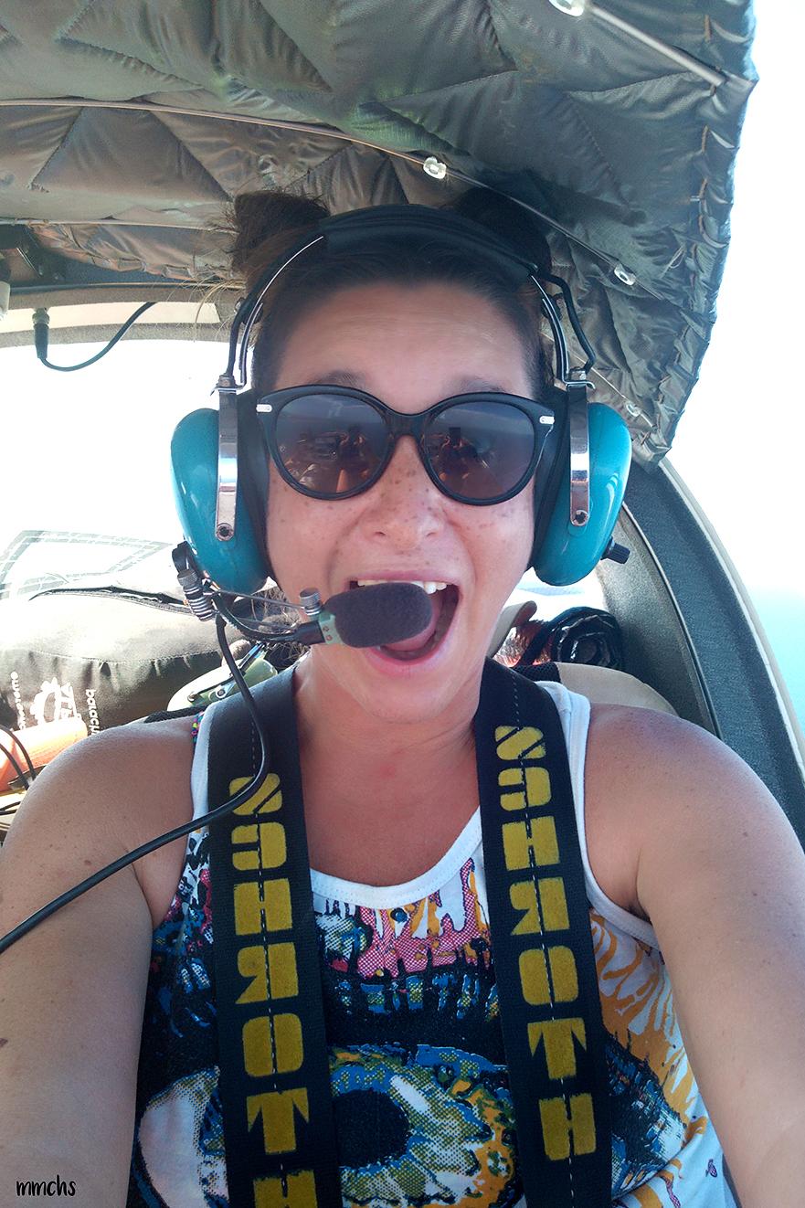 volando en avion