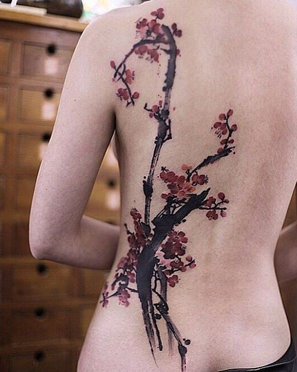 Flower Tattoos Cherry Blossoms Back Tattoo 100 Awesome Flickr