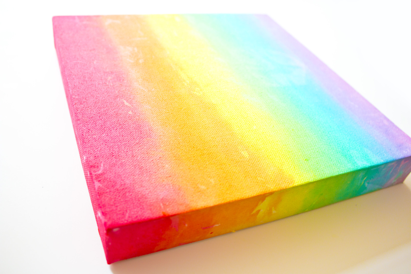 Tissue Paper Watercolour Rainbow – A Toddler Art Project – Mimi Codd