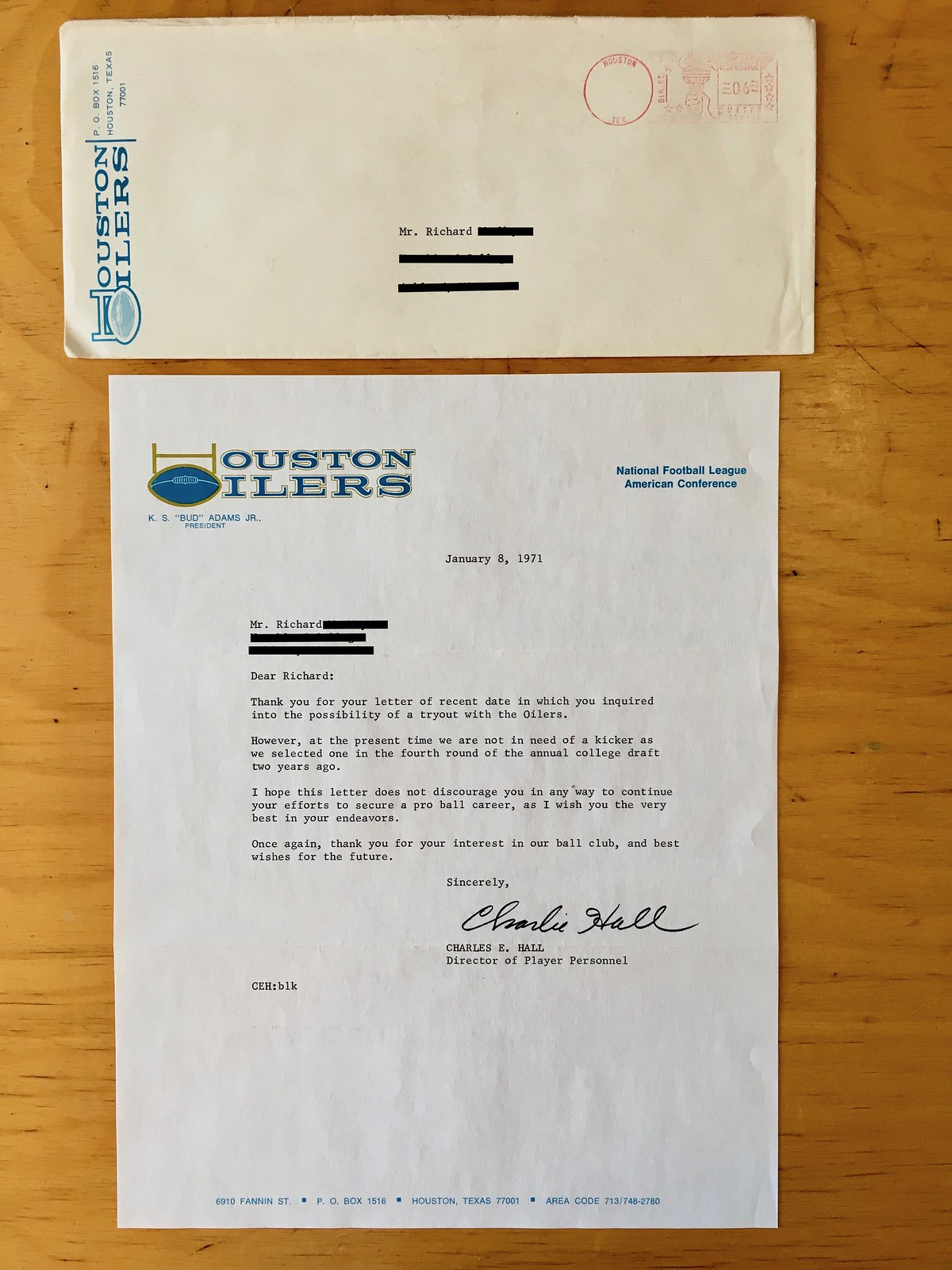 Poor RichardS Almanac A Collection Of Nfl Rejection Letters  Uni