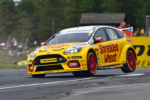 Tom Chilton, Ford Focus RS, British Touring Car Championship, Croft 2018