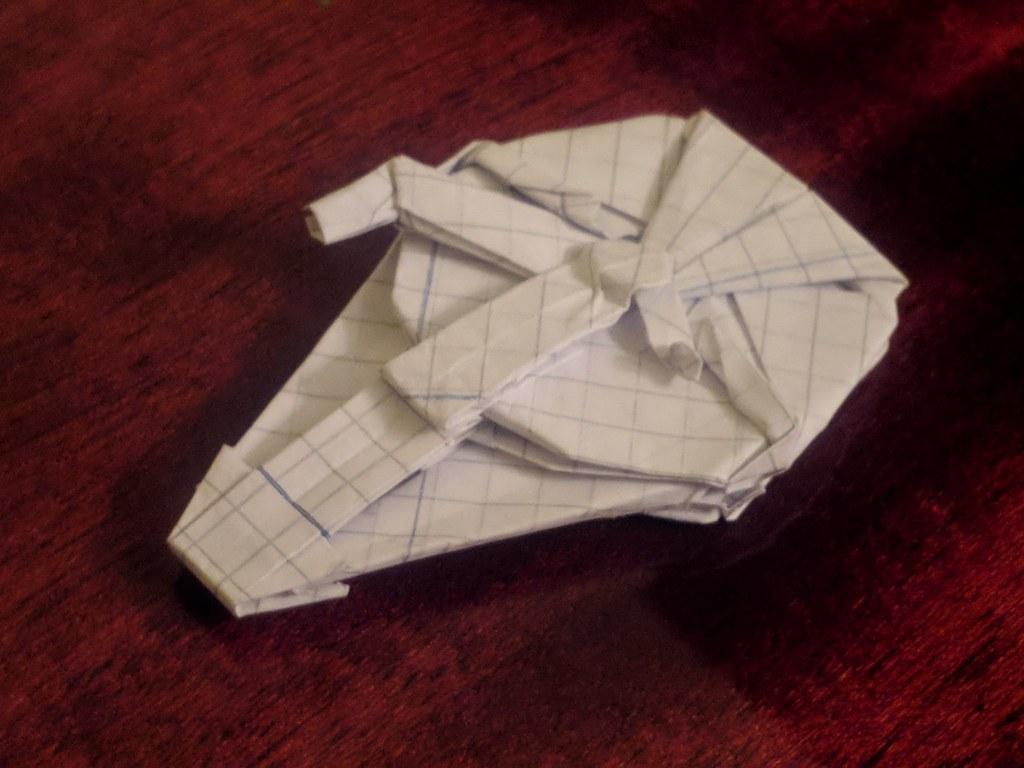 Origami Landos Millennium Falcon Lazar Mihai Ilie Flickr