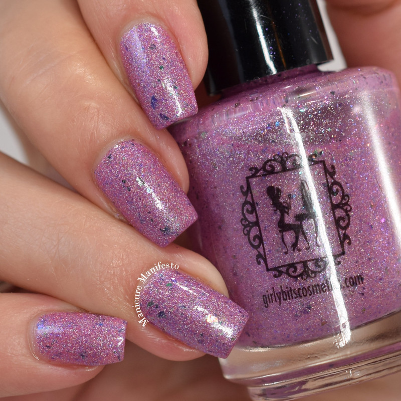 Girly Bits mystery polish swatch