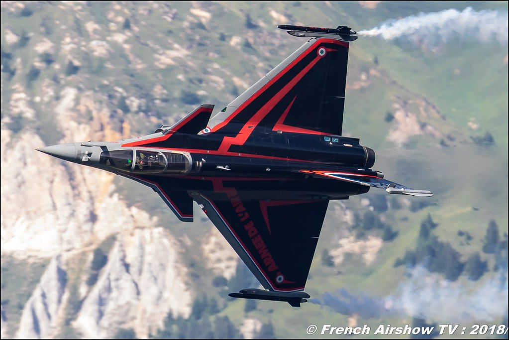 Rafale Solo Display Courchevel 2018 - Babouc , Dassault Aviation , Armée de l'Air , Coupe du Monde Saut à Ski – Courchevel 2018 , skijumping world cup courchevel , Courchevel - Le Praz , Show Aerien , Alpes , Canon EOS , Sigma France , contemporary lens , Meeting Aerien 2018