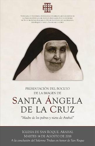 AionSur 30149641118_369b926087_d El Santo Entierro de Arahal presenta el boceto de la nueva imagen de Santa Ángela de la Cruz Arahal Semana Santa
