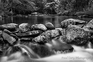 East Prong, Roaring River, B&W | by Paul Cory