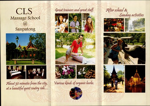 Brochure CLS Massage School Chiang Mai Thailand 1