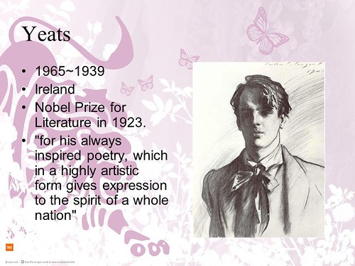 in memory of W. B. Yeats (1)