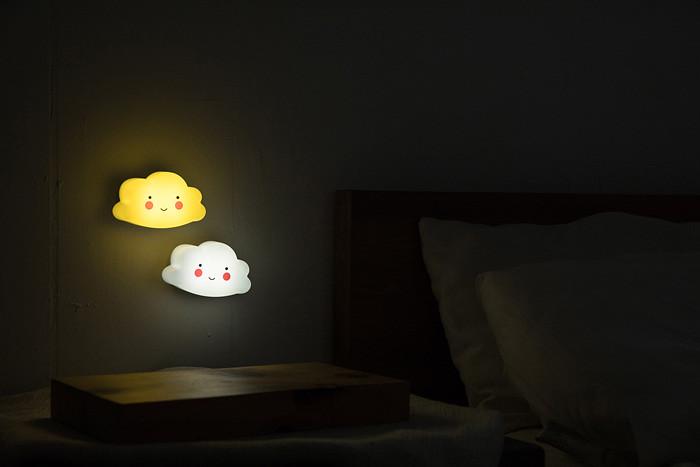 可愛雲朵夜燈