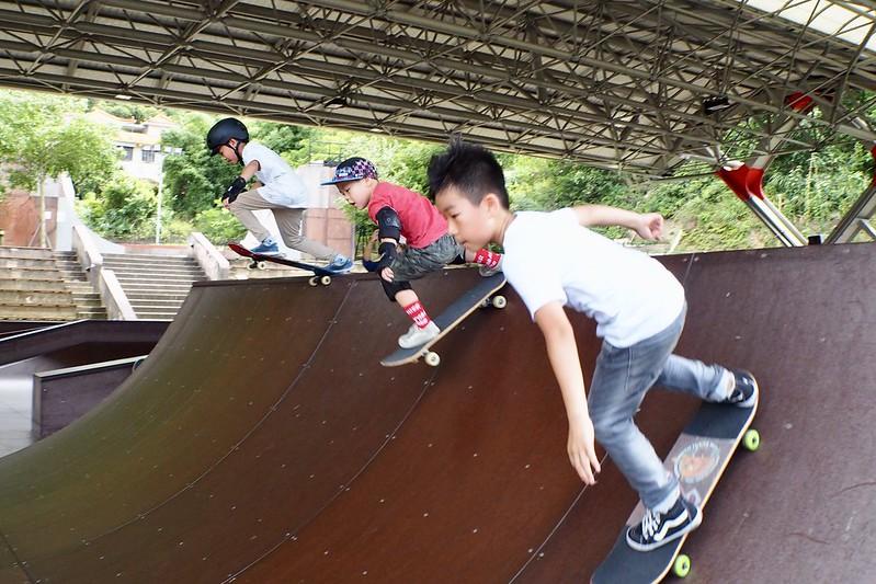 「臺北市極限運動體驗育樂營」培育許多優秀極限運動小子。(中華民國極限運動協會提供)