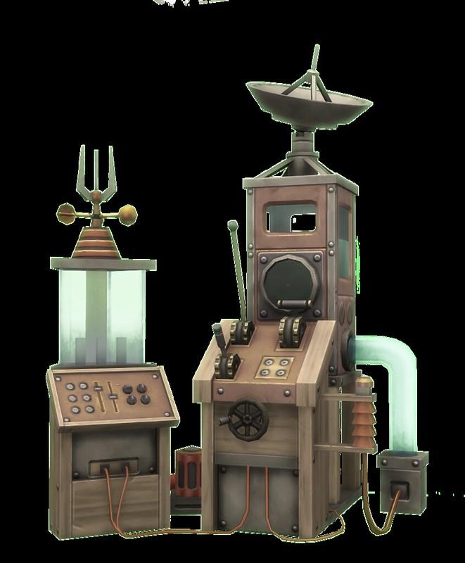 Máquina para cambiar el clima en Los Sims 4