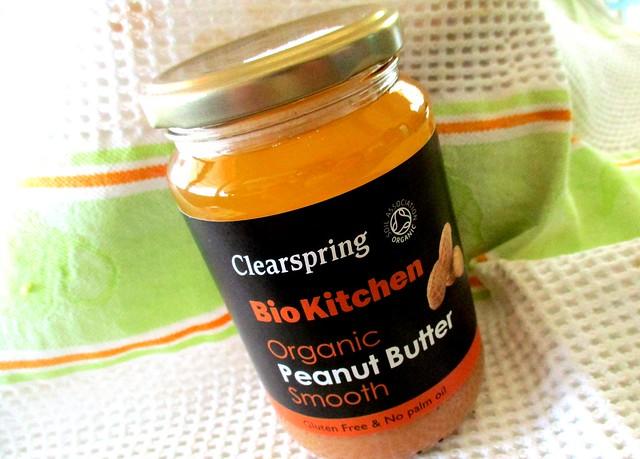 Gluten-free organic peanut butter