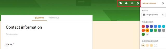contact form WordPress