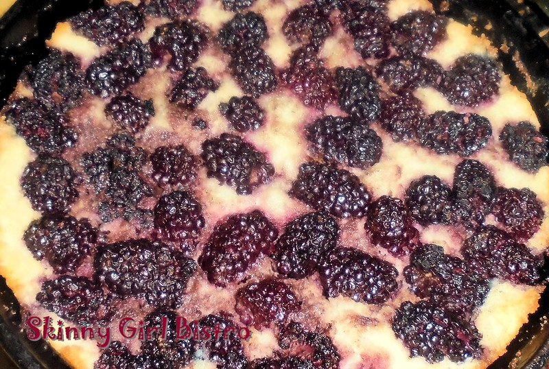 Photo: Blackberry Cobble Cake
