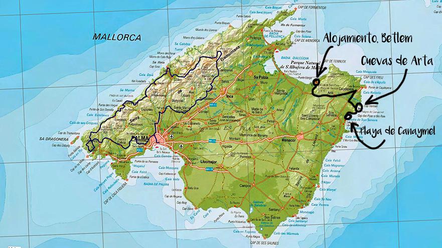 plano de Mallorca