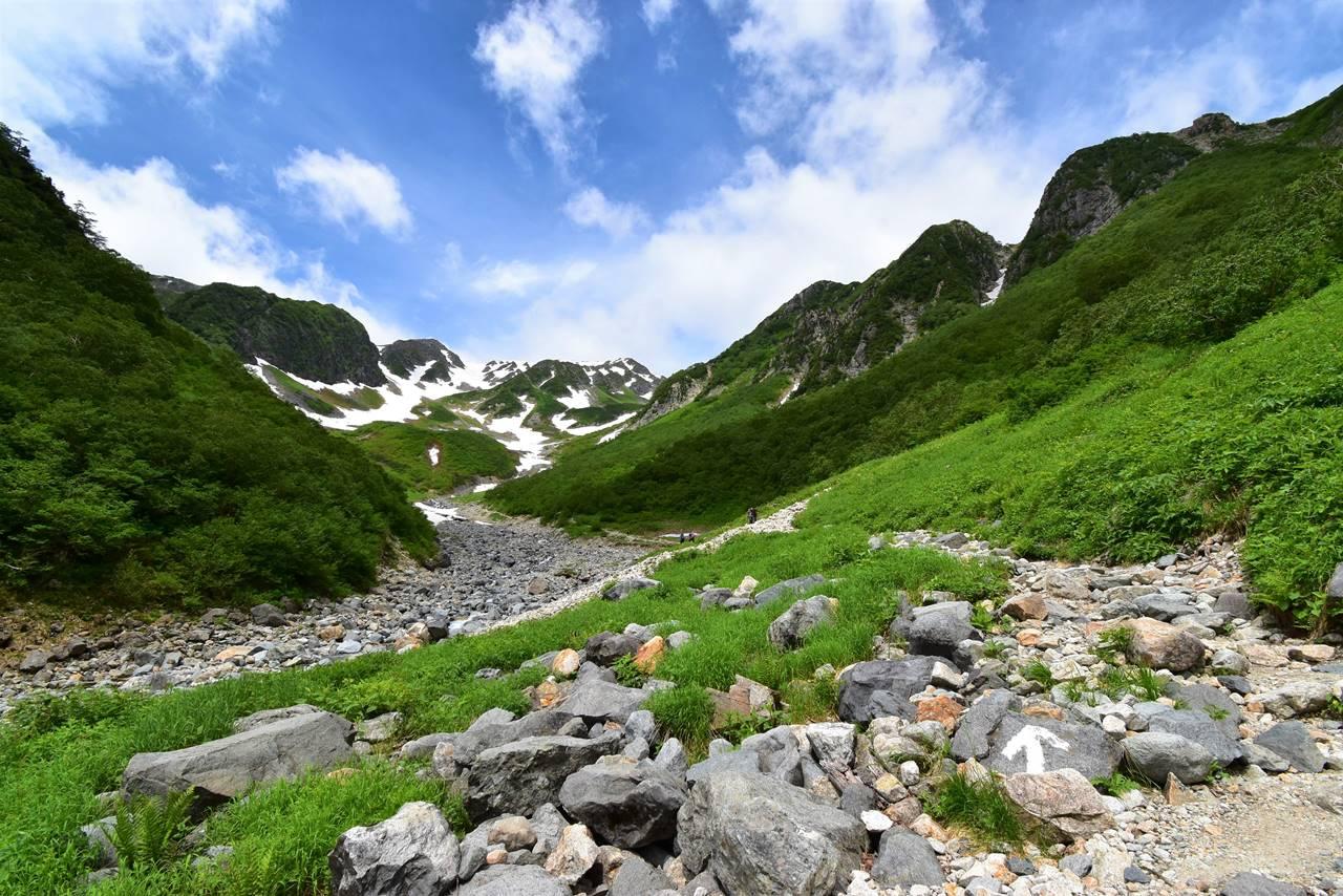 北アルプス・槍沢 南岳~槍ヶ岳テント泊登山